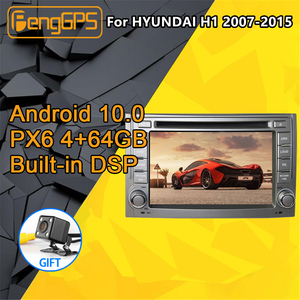 For HYUNDAI H1 Grand Starex Android Radio 2007 - 2015 Car multimedia DVD Player Stereo PX6 GPS Navigation Head unit Autoradio