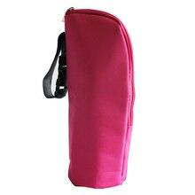Портативная для кормления свежая сумка для детской бутылочки дорожная термостойкая прогулочная коляска подвесная молочная грелка