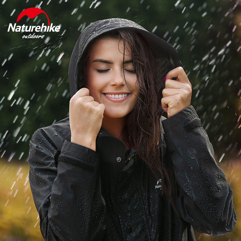 Naturehike 2020 New Outdoor Raincoat Poncho Waterproof Breathable Camping Mountain Climbing Hiking On Foot Fashion NH20FS006