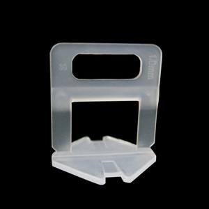 Image 2 - Système de nivellement de carrelage, 401 pièces, 1mm 300 pièces clips + 100 pièces cales + 1 pince espaceurs pour carrelage en plastique
