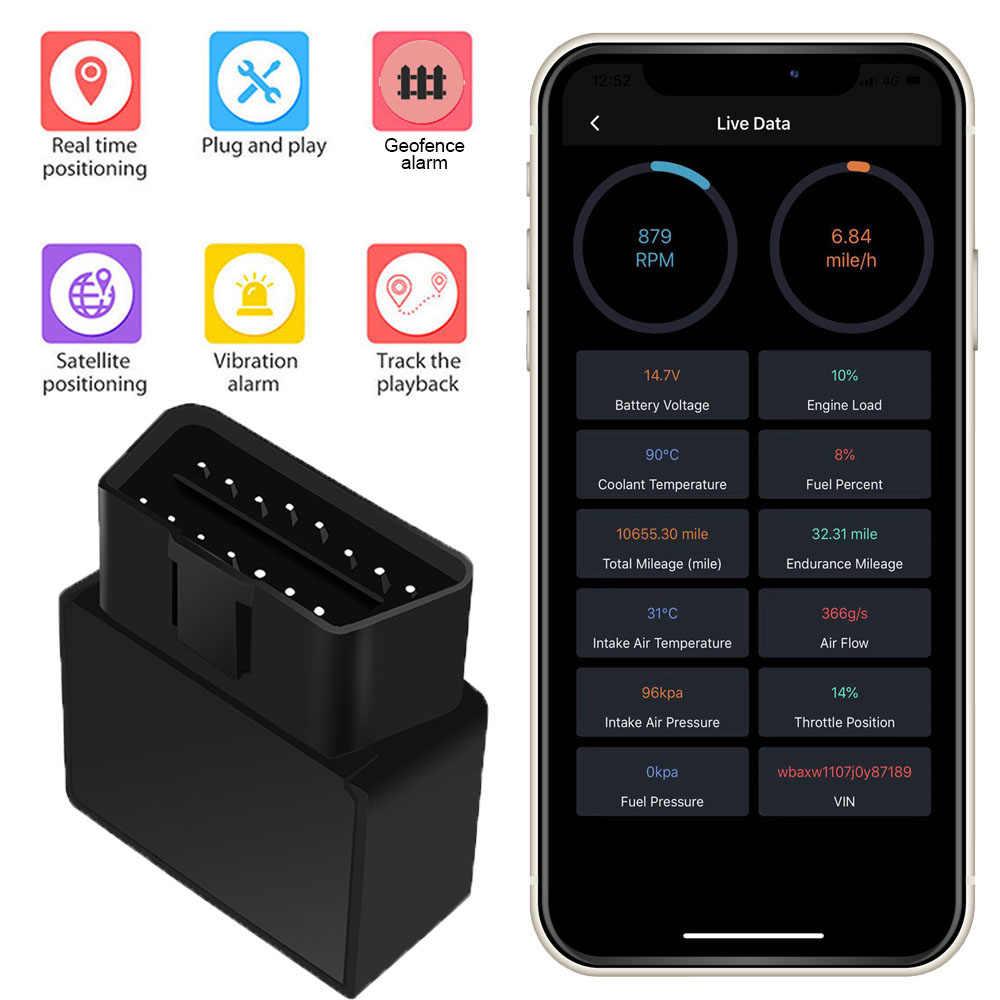 TK STAR TK826 OBD Автомобильный GPS, трекер, GPRS GSM система слежения в реальном времени устройство монитора локатор анализа расхода топлива