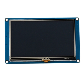 4.3 Inch for Nextion HMI Intelligent Smart USART UART Serial Press TFT LCD Module Display Panel for Raspberry Pi 2 A+ B+ Uno R3