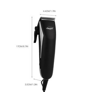 Image 5 - Машинка для стрижки волос электрическая с низким уровнем шума, 220 В
