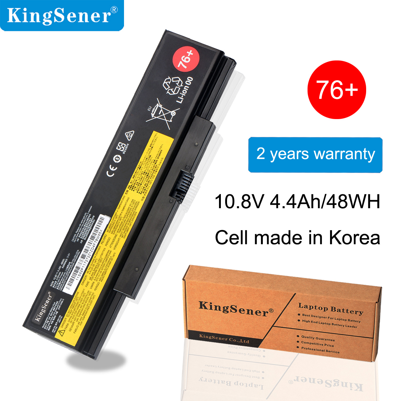KingSener batterie d'ordinateur portable Pour Lenovo ThinkPad E555 E550 E550C E560 E565C 45N1759 45N1758 45N1760 45N1761 45N1762 45N17 48WH