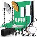 Набор для освещения софтбокса для фотостудии с рамкой для фона 2 6x3 м 3 шт. фоны штатив стойка отражатель доска 4 зонта