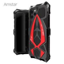 Amstar 360 Full Vỏ Giáp Bảo Vệ Dành Cho iPhone 11 Pro Max Khung Kim Loại Dẻo Silicone Chống Sốc Cover Cho iPhone X XS Max XR