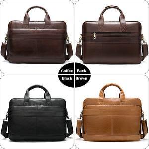 Image 5 - WESTAL borsa da uomo in pelle cartella da uomo borse da ufficio per uomo borsa da uomo in vera pelle per laptop borsa da uomo borsa da lavoro