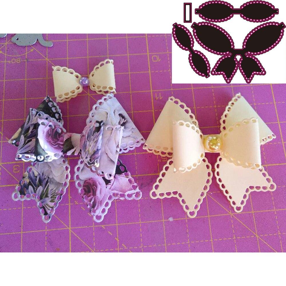 Высечки металла высечки красивые ножницы галстук бабочка декоративные наклейки бумаги ремесло руководство карты высечки искусства машина для резки|Вырубные штампы|   | АлиЭкспресс