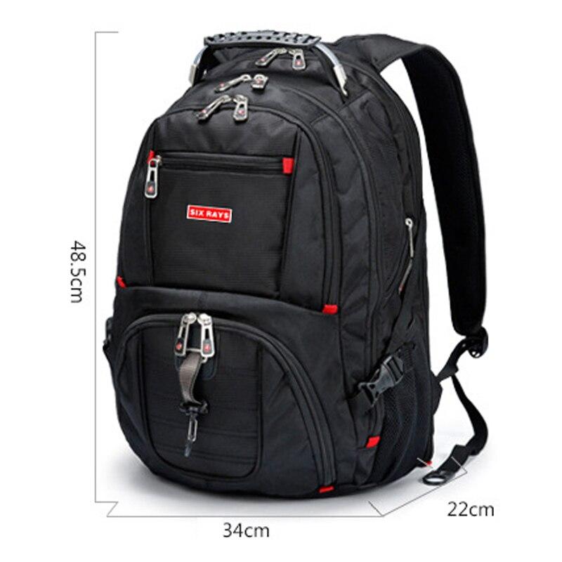 Image 2 - Brand Swiss Laptop 15.6 Backpack External USB Charge Swiss  Computer Backpacks Anti theft Backpack Waterproof Bags for Men  WomenBackpacks