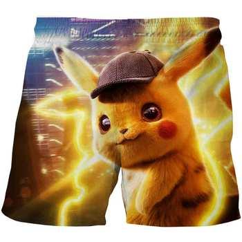 Letnie nowe ubrania dla dzieci Baby Boy krótka modna koszulka z serii Pokémon dla chłopca Pokemon elastyczne sportowe spodenki z kieszeniami tanie i dobre opinie Lato 4-6y 7-12y 12 + y Damsko-męskie POLIESTER CN (pochodzenie) szorty Dobrze pasuje do rozmiaru wybierz swój normalny rozmiar