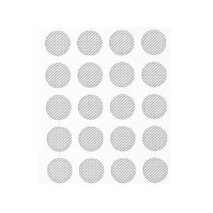 Image 4 - 20pcs Self adhere Professional Earphone Dust Network Shell Steel Mesh Filter Screen 4mm 4.2mm 4.7mm 5mm Earphone Accessories