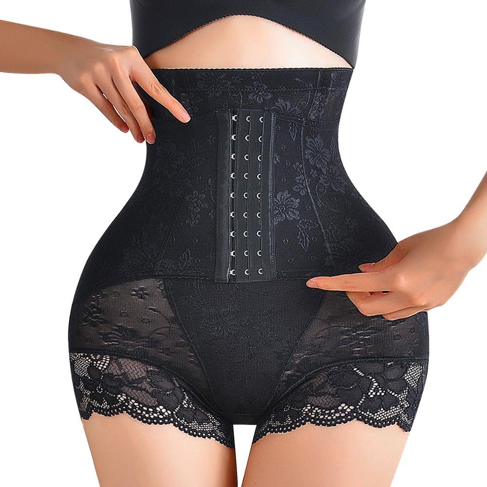 Women Lace Shapewear Body Shaper Corset Underwear Hip Fashion Seamless Panty