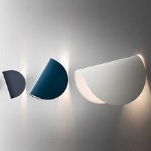 Modern LED Iron Art Rotating Wall Lights Nordic Loft Home Decor Lamp Living Room Restaurant Aisle Bedroom Lighting Fixtures