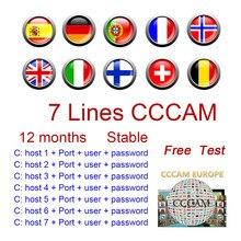 Ccam receptor 2 linhas de cabo para newcamd satélite hd av gtmedia v8 v7s v9 super descodificadores compatíveis