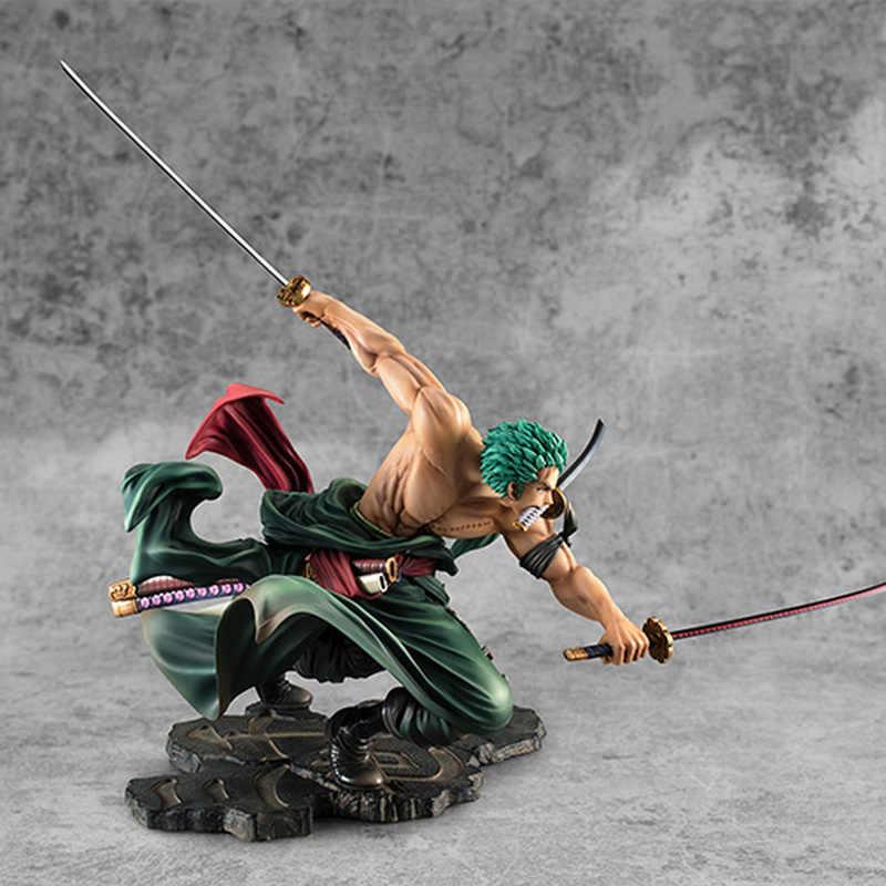 One Piece Anime Figure Roronoa Zoro Three-blade Sa-maximum Ver PVC Figure No box