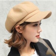 Cap Sunscreen-Hats Beret Newsboy-Caps Painter Baker Octagonal Peaked Gatsby Female Women