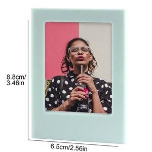 Image 2 - 20/30/50 قطعة متنوعة اللون مزيج حر إطار صورة مغناطيسي ل Fujifilm Instax فيلم صغير Mini 9 8 11 7s 70 90 SP 1