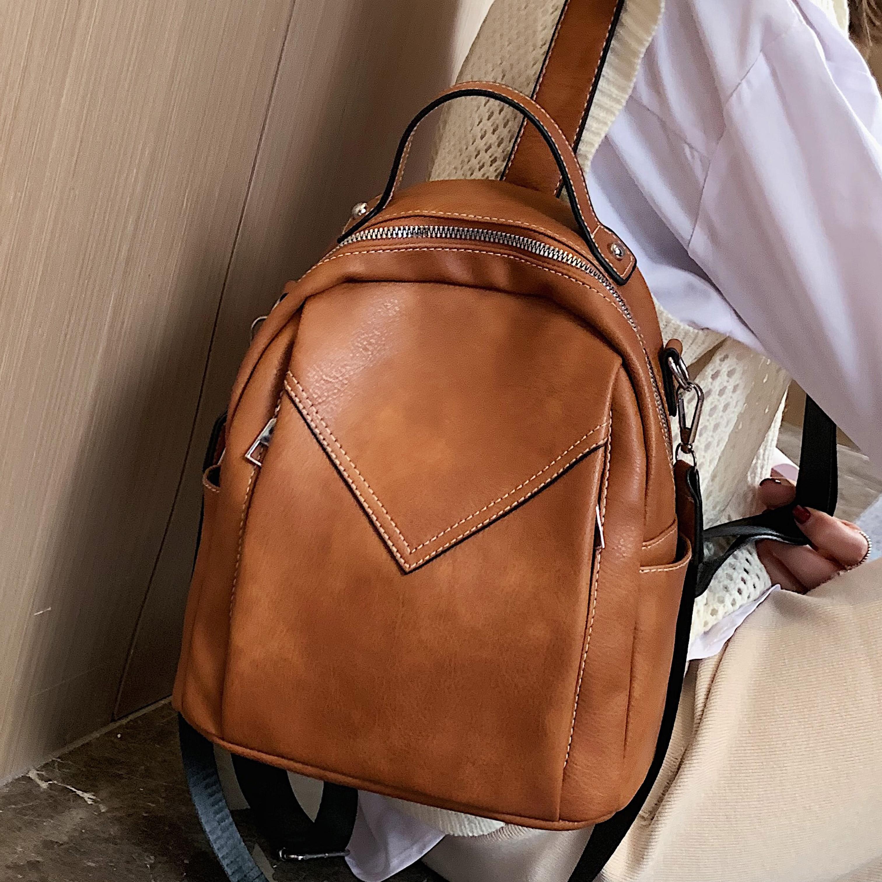 Women Cross Body Bag Dave White Messenger Bag Backpack Rucksack Functional Travel Casual Purses