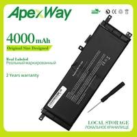 Apexway B21N1329 ASUS D553M F453 F453MA F553M P553 P553MA X453 X453MA X553 X553M X553B X553MA X403M X503M|노트북 배터리|컴퓨터 및 사무용품 -