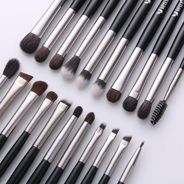 BEILI Luxury Black 2-40 pcs Makeup Brushes Set Professional Natural hair Powder Foundation Eyeshadow pinceaux de maquillage 3