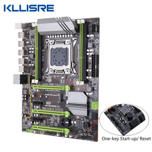 Image 4 - Kllisre X79 motherboard set mit Xeon E5 2689 2x16GB = 32GB 1600MHz DDR3 ECC REG speicher ATX USB 3,0 SATA3 PCI E NVME M.2 SSD