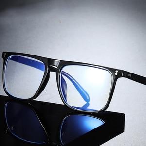 Анти-синий светильник, блокирующий фильтр для очков, уменьшает напряжение очков, прозрачные игровые компьютерные очки для мужчин, улучшает комфорт
