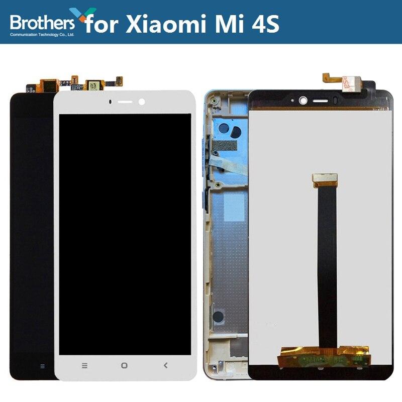 ЖК дисплей Дисплей для Xiaomi Mi 4S ЖК дисплей Экран для Xiaomi Mi 4S Сенсорный экран планшета ЖК дисплей сборки 5,0 ''телефон ремонт Запчасти испытания