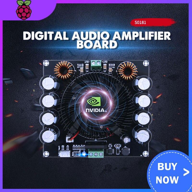XH-M257 TDA8954TH 420W High Power Class AD AMP Amplificador Dual AC 24V Mono Digital Audio Amplifier Board B3-004