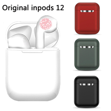 Wireless Headset inPods 12 TWS Touch Key Bluetooth 5.0 Sport Earphone Stereo For iPhone Xiaomi