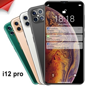 New Style I12Pro 1+8G Intelligent Android Mobile Phone Cross Border Hot Selling 6.6 Inch Bang Screen outside China