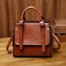 цена на 2020 Europe And America Fashion Women's Casual Shoulder Bag Simple Elegant Elegant Retro Shoulder Bag Handbag