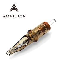 Ambition Tattoo Cartridge Needles 20 pieces Curved Magnum Medium Taper 5rm 7rm 9rm 11rm 13rm 15rm 17rm 19rm 21rm 23rm