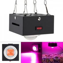 300W 방수 COB LED 셸 전체 스펙트럼으로 빛을 성장 식물에 대 한 실내 LED 램프 성장 텐트/꽃 묘목 발아