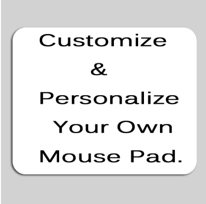 Mairuige Diy Personalized Custom Your Cool Image Photo Printed Gamer Gaming Rectangle Mouse Pad PC Computer Rubber Mat For CSGO