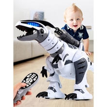 RC Robot Dinosaur Intelligent Interactive Smart Toy Electronic Remote Control Tyrannosaurus Collectible Model