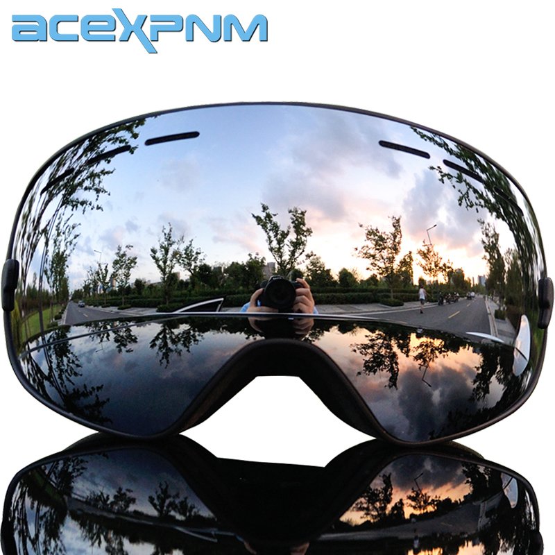 ACEXPNM 2019 Ski Goggles With Ski Mask Men Women Snowboard Goggles Glasses Skiing UV400 Protection Anti-fog Snow Skiing Eyewear