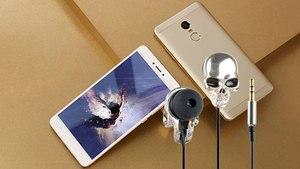 Image 5 - In Ear Hoofdtelefoon Voor Telefoon Stereo Bass Headset Skull Heads 3.5Mm Port Metal Bedrade Oortelefoon Voor Huawei Samsung xiaomi Smartphone