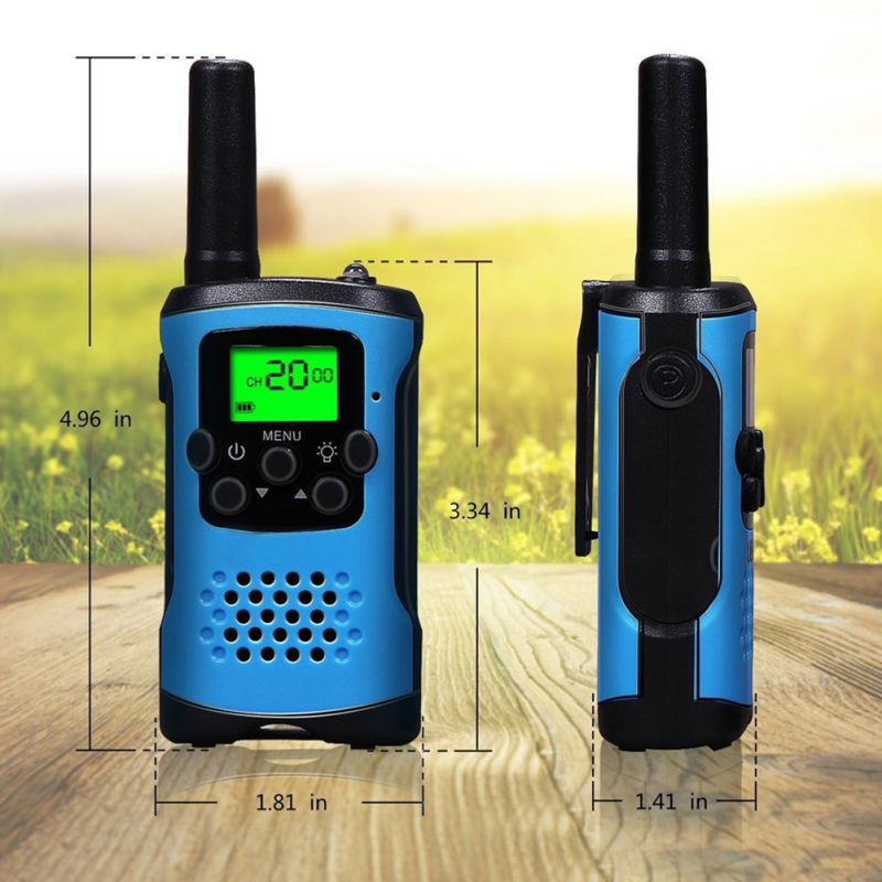 2Pcs Two Way Radio Kids Walkie Talkie for Motorola Mini children's outdoor self driving walkie talkie Gadget up to 6km Pakistan