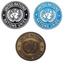 Insigne de Patch d'épaule véritable des Nations unies
