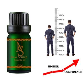 Wzrost wysokości olejek ziołowy kondycjonowanie ciało rosną olejek kojący stóp opieka zdrowotna promuj wzrost kości 10ml tanie i dobre opinie vickywinson Związek olejku FF109
