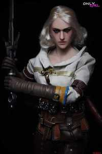 Image 2 - 1/6 scale Ciri action figure with female body head sculpt underwear Brown trousers boots Collection