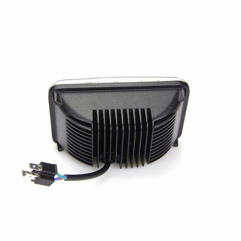 NB YULUBAIHUO 4x6In LED Hi//Lo Projector Sealed Beam Headlight Fit For DRZ400SM DRZ400S DRZ400E 2