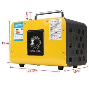 Image 4 - Ozon Generator 28G/24G/10G Machine Rvs Luchtreiniger Luchtreiniger Desinfectie Sterilisatie Reiniging formaldehyde