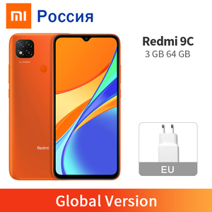 Global Version Xiaomi Redmi 9C Mobile Phone 3GB RAM 64GB ROM MTK Helio G35 Octa Core 6.53