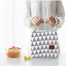 Portable Lunch Bag For Women Cooler Bag Kids Men Insulated Lunch Box Thermal Bag Lunch Container School Food Storage Bags dispalang violin print school backpack for girls thermal lunch sack bag for children kids insulated cooler bag bookbag michilas