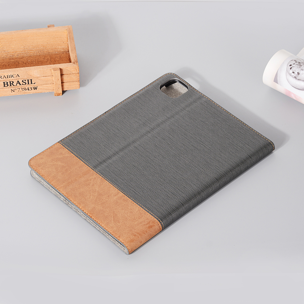Series PU 2020 Tablet For Brown iPad Back 9 Pro Business 12 Cover 2020 For Pro Case iPad