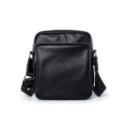 Черная сумка-мессенджер через плечо для мужчин, мужская сумка-слинг через плечо, модные водонепроницаемые деловые мешки для работы