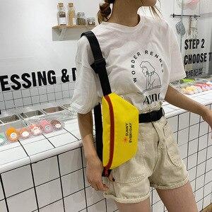 Image 2 - JIULIN Dei Bagagli sacchetto di stoffa Sacchetto obliquo Signora Baitieins Estate Xiaoqing moda alla moda del seno sacchetto di 2019