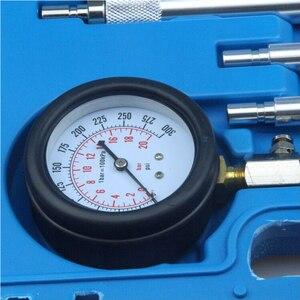 Image 2 - Professionale STRUMENTI di AUTO A Benzina Motore A Benzina Cilindro di Compressione Tester Kit Cilindro Tester Con M10 M12 M14 M16 M18