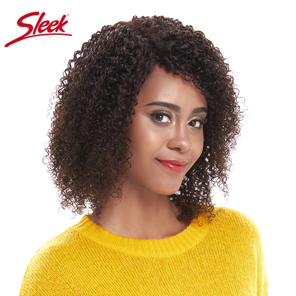Sleek Short Human Hair Wigs Lace Curly Human Hair Wig 100% Remy Brazilian Hair Wigs L Part Lace Wigs Natural Color Real Wigs